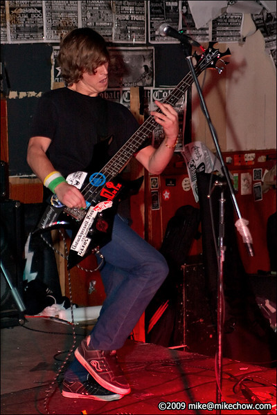 Winston Campaign live at The Cobalt, September 27, 2009.