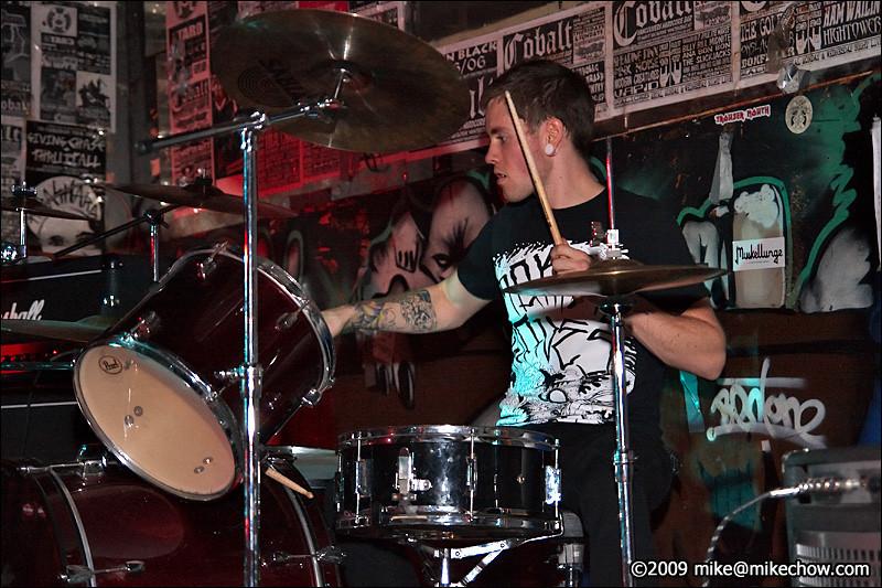 Hooker Pop live at The Cobalt, September 27, 2009.