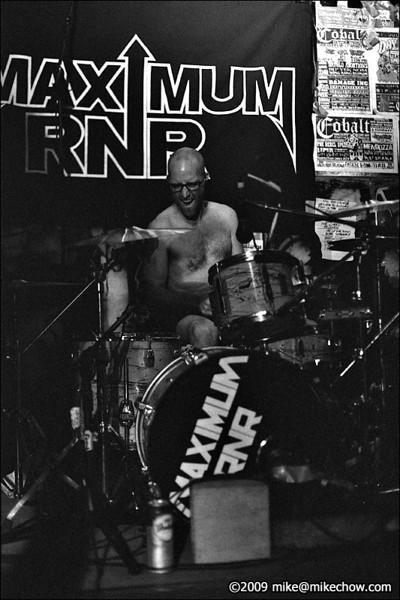 Maximum RNR live at The Cobalt, August 6, 2009.