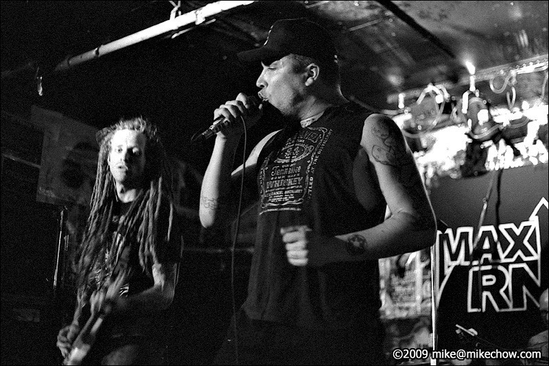 Maximum RNR live at The Cobalt, August 6, 2009.