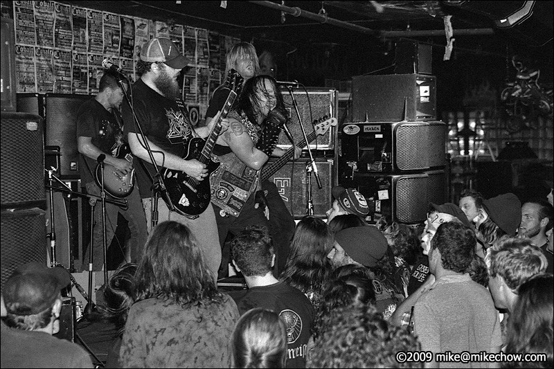 Spreadeagle's final show in Vancouver, live at The Cobalt, August 6, 2009.