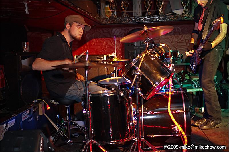 Firebrand live at Pub 340. October 24, 2009.