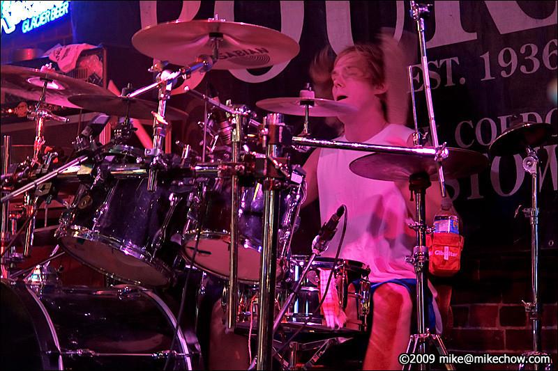 Quartered live at The Bourbon, October 24, 2009.