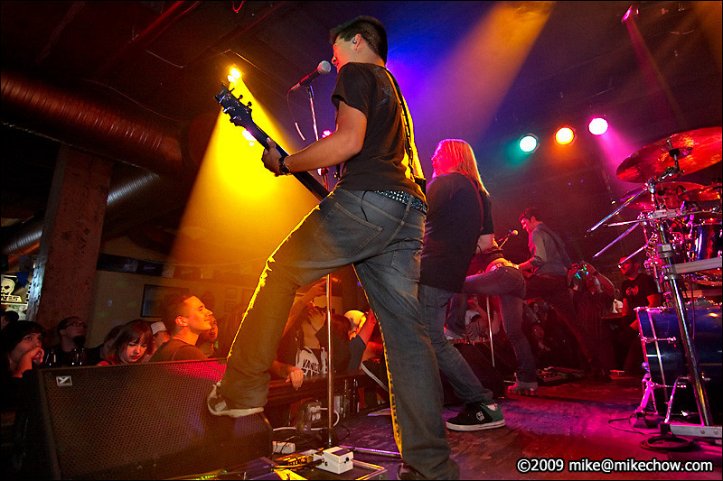The Fury live at The Bourbon, October 3, 2009.