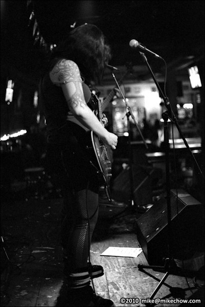 Kill Matilda live at The Bourbon, Vancouver BC, January 1, 2010.