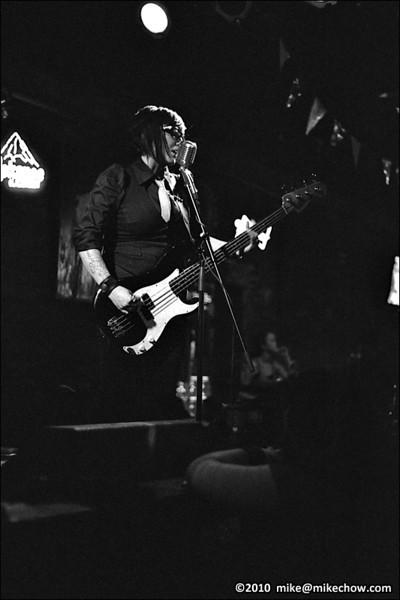 Bang Bang You're Dead live at The Bourbon, Vancouver BC, January 1, 2010.