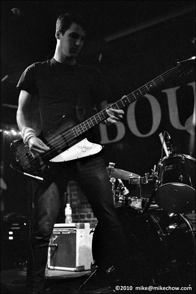 Adjective live at The Bourbon, Vancouver BC, January 1, 2010.