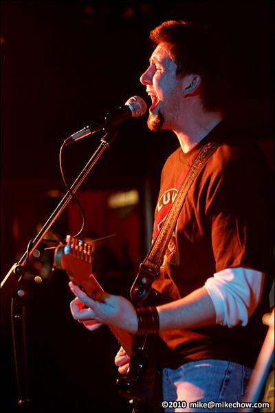 Firebrand live at The Media Club, Vancouver BC, November 26, 2010.