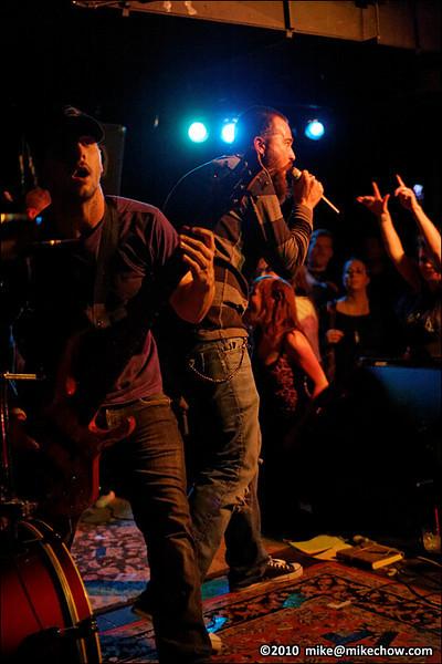 Macula live at The Media Club, Vancouver BC, November 26, 2010.