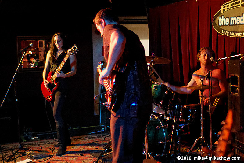 Black Betty live at The Media Club, Vancouver BC, November 26, 2010.