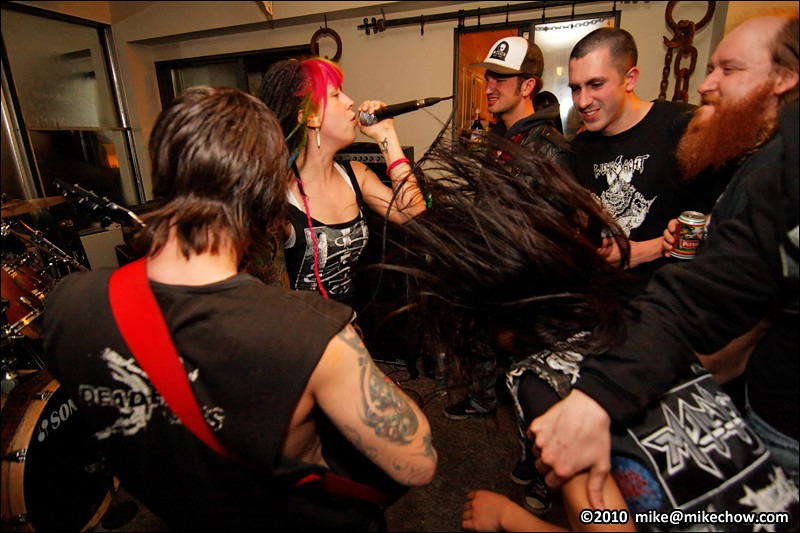 Life Against Death live at the Goler Ranch, Vancouver BC, March 13, 2010.