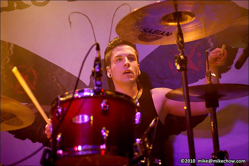 Like A Storm live at The Bourbon, Vancouver BC, April 23, 2010