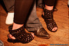 Drew's sexay shoes at The Bourbon, Vancouver BC, April 23, 2010