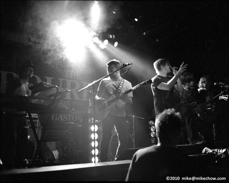 Bridges Out live at The Bourbon, Vancouver BC, March 6, 2010.