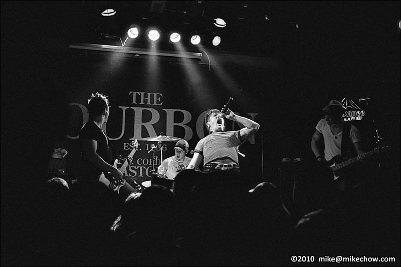 Mass Undergoe live at The Bourbon, Vancouver BC, March 6, 2010.