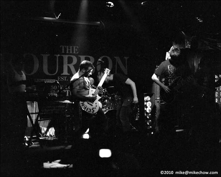Bridges Out live at The Bourbon, Vancouver BC, March 6, 2010.