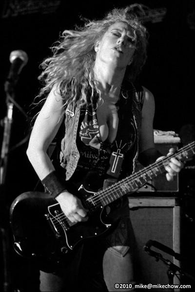 Nashville Pussy live at Garibaldi Lift Company, Whistler BC, November 5, 2010.