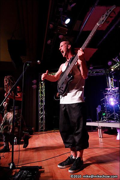 Ninjaspy live at Tom Lee Music Hall, Vancouver BC, August 28, 2010.