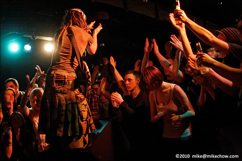 Ninjaspy live at The Media Club, Vancouver BC, December 17, 2010