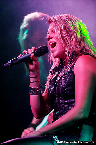Kobra and the Lotus live at The Bourbon, Vancouver BC, July 24, 2010.