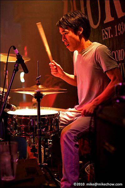 The Velvet Chameleon live at The Bourbon, Vancouver BC, March 25, 2010.