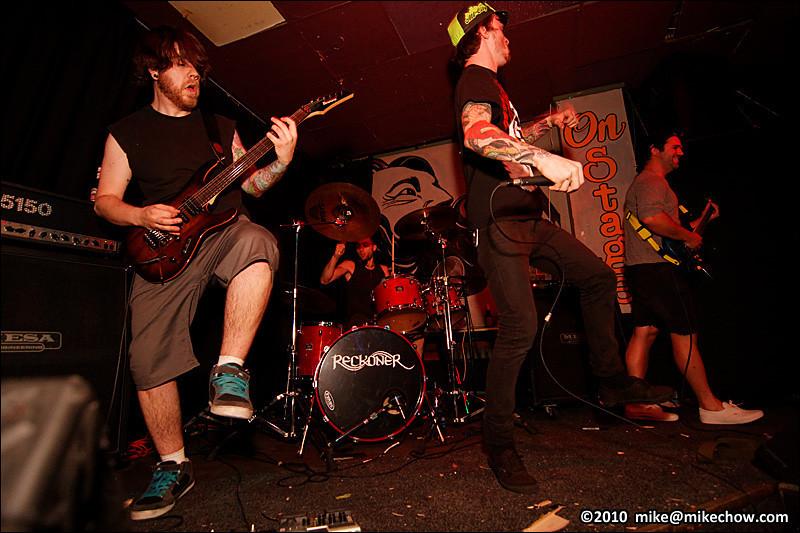 Reckoner live at Pat's Pub, Vancouver BC, July 2, 2010.
