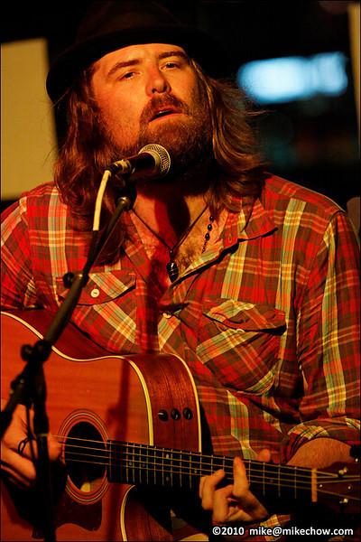 Scott Valentine live at The Backstage Lounge, Vancouver BC, July 27, 2010.