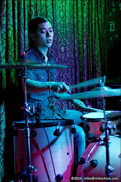 The Post War live at The Cellar, Vancouver BC, May 28, 2010.