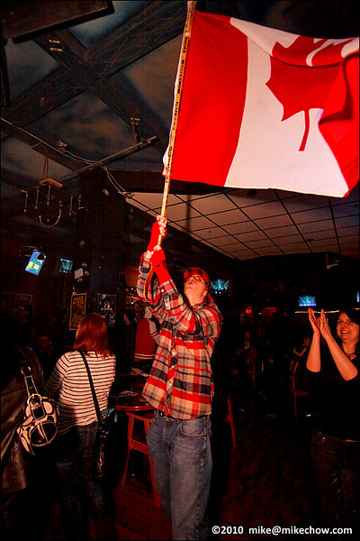 Pub 340, Vancouver BC, February 27, 2010.