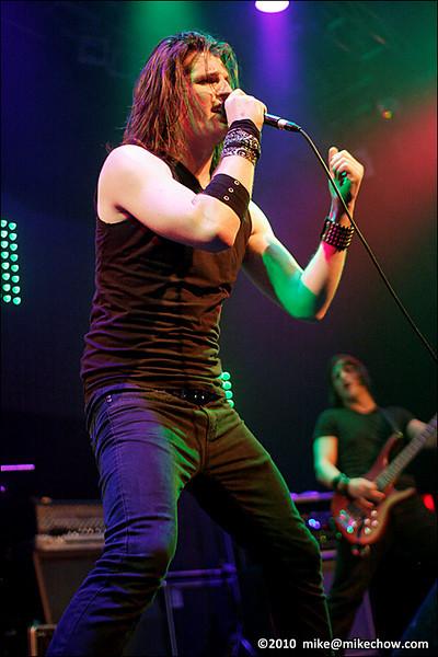Incura live at Venue, Vancouver BC, April 15, 2010.