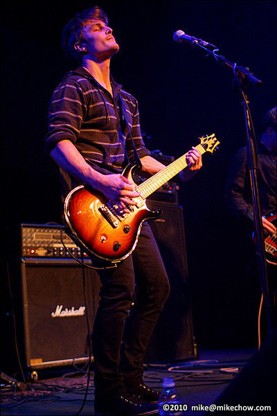The Post War live at Venue, Vancouver BC, April 15, 2010.