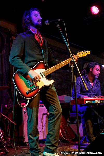 Joseph Blood live at The Bourbon, Vancouver BC, August 6, 2010.
