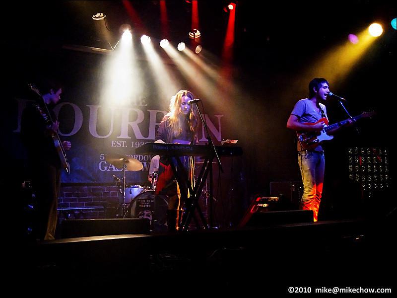 Modern Lakes live at The Bourbon, Vancouver BC, May 27, 2010.
