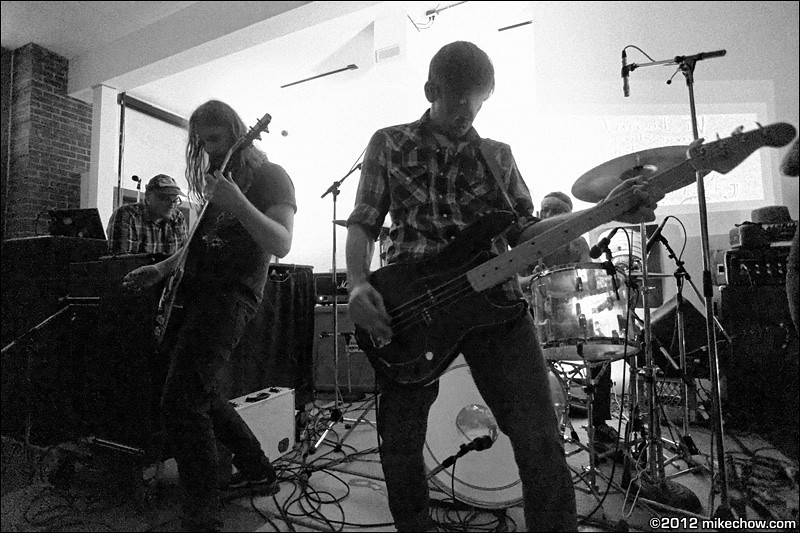 Tobeatic live at The Interurban Art Gallery, Vancouver BC, October 13, 2012.