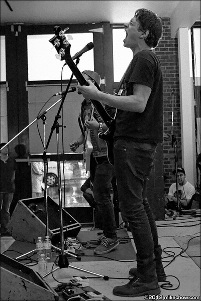 Astrakhan live at The Interurban Art Gallery, Vancouver BC, October 13, 2012.