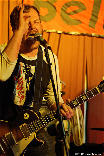 The Belushis live at Iron Road, Vancouver BC, July 28, 2012.