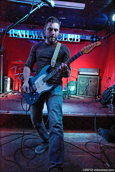 Rad Disaster live at The Railway Club, Vancouver BC, October 6, 2012.