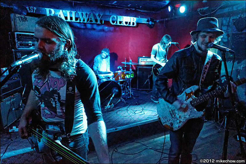 The Best Revenge live at The Railway Club, Vancouver BC, October 6, 2012.
