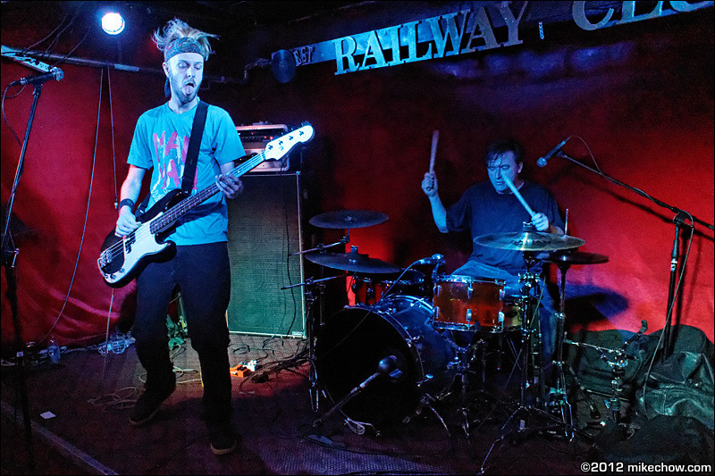 Fierce Creep live at The Railway Club, Vancouver BC, October 6, 2012.