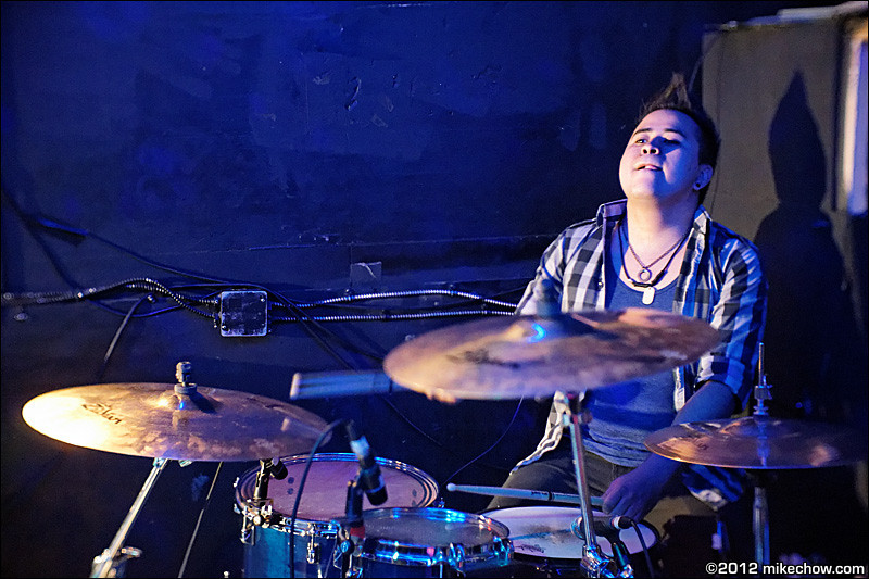 Secret Revolution live at Tunnel, Vancouver BC, January 27, 2012.
