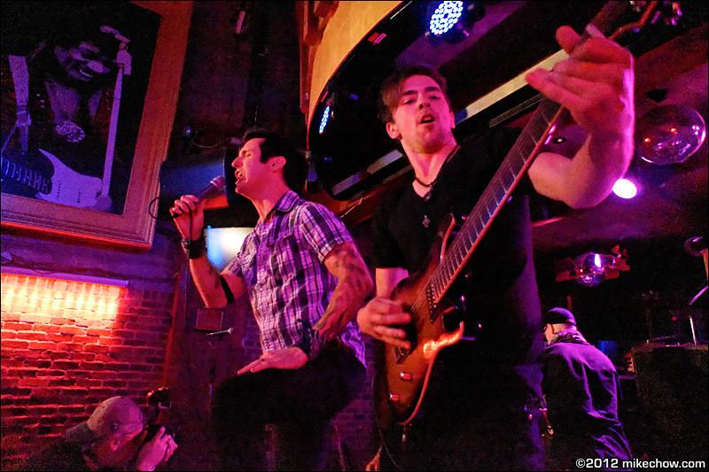 It's Criminal live at Joe's Apartment, Vancouver BC, September 15, 2012.
