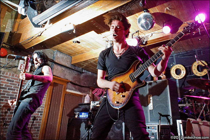 """It's Criminal live at Joe's Apartment, Vancouver BC, September 15, 2012.<br /> <br /> Caught someone else's flash on this one. I call it """"My Tribute to Tyler Branston""""."""