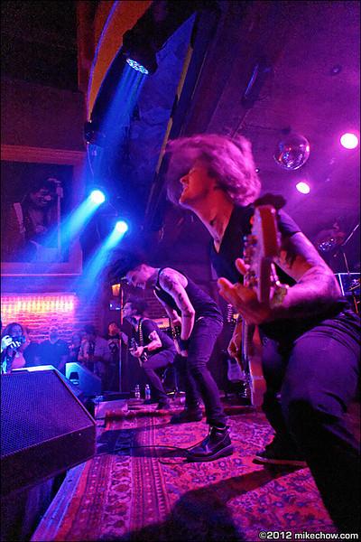 Incura live at Joe's Apartment, Vancouver BC, September 15, 2012.