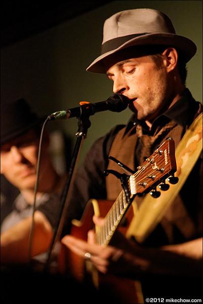 Patrick Spencer Band live at Cafe Deux Soleils, Vancouver BC, March 10, 2012.