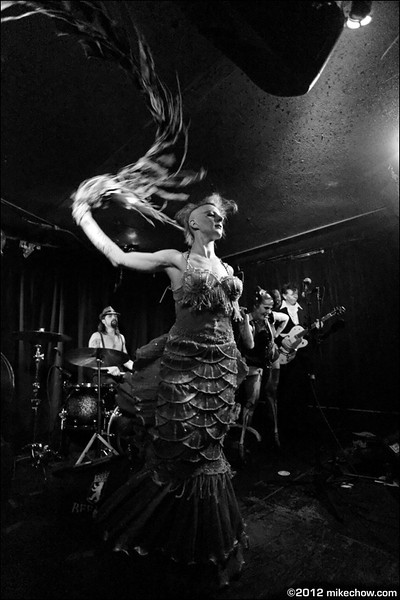 Kamikaze Queens live at The Funhouse, Seattle WA, April 1, 2012.