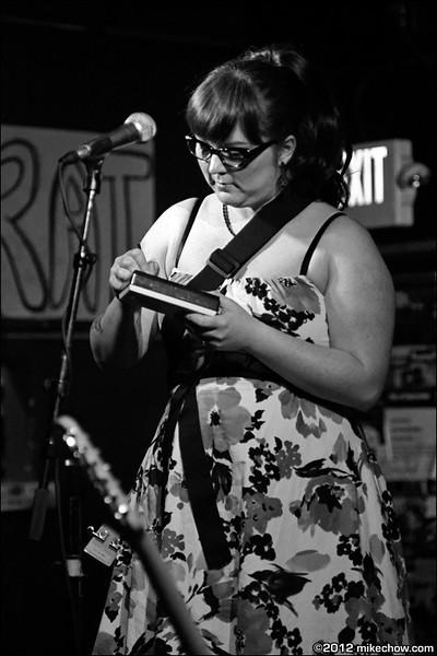 Little Black Bottles live at The Funhouse, Seattle WA, April 1, 2012.