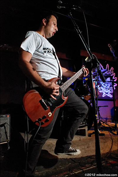 The Nailheads live at Funky's, Vancouver BC, September 29, 2012.