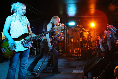 Lez Zeppelin, downstairs at the Middle East in Cambridge, MA.