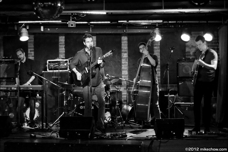 Greg Drummond live at The Electric Owl, Vancouver BC, November 17, 2012.