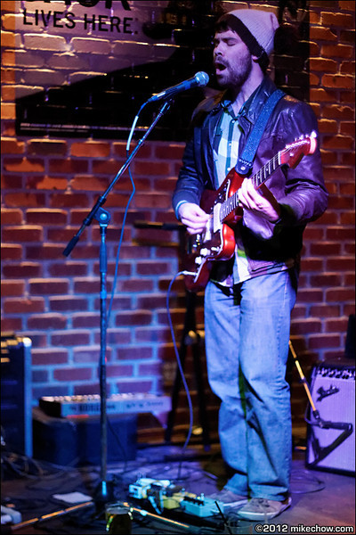 Jesse & The Dandelions live at Whiskey Dix, Vancouver BC, February 25, 2012.